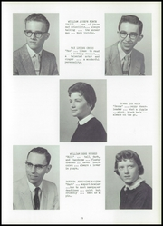 Page 13, 1958 Edition, Fayette High School - Cardinal Yearbook (Fayette, IA) online yearbook collection