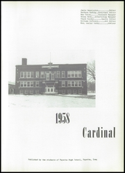 Page 5, 1958 Edition, Fayette High School - Cardinal Yearbook (Fayette, IA) online yearbook collection