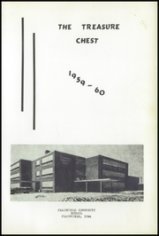 Page 5, 1960 Edition, Plainfield High School - Treasure Chest Yearbook (Plainfield, IA) online yearbook collection