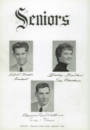 Page 14, 1959 Edition, Bayard High School - Red Arrow Yearbook (Bayard, IA) online yearbook collection