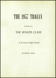 Page 5, 1957 Edition, Scranton High School - Trojan Yearbook (Scranton, IA) online yearbook collection