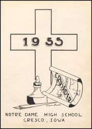 Page 5, 1955 Edition, Notre Dame High School - Crusader Memories Yearbook (Cresco, IA) online yearbook collection
