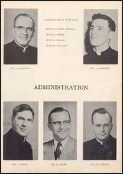 Page 9, 1955 Edition, Notre Dame High School - Crusader Memories Yearbook (Cresco, IA) online yearbook collection