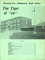 Page 5, 1969 Edition, Morning Sun High School - Tiger Yearbook (Morning Sun, IA) online yearbook collection