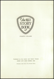 Page 7, 1922 Edition, Story City High School - Story Book Yearbook (Story City, IA) online yearbook collection