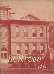 Page 1, 1954 Edition, Diagonal High School - Au Revoir Yearbook (Diagonal, IA) online yearbook collection