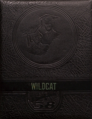1958 Edition, Dumont High School - Wildcat Yearbook (Dumont, IA)