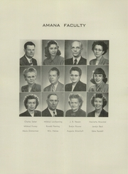 Page 10, 1948 Edition, Amana High School - Bugle Yearbook (Amana, IA) online yearbook collection