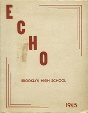 Page 1, 1945 Edition, Brooklyn High School - Echoes (Brooklyn, IA) online yearbook collection