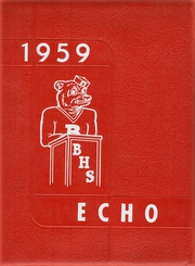 1959 Edition, Brooklyn High School - Echoes (Brooklyn, IA)
