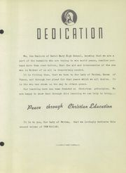 Page 7, 1949 Edition, St Mary High School - Marian Yearbook (Marshalltown, IA) online yearbook collection
