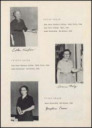 Page 15, 1955 Edition, Woodward High School - Granger Yearbook (Woodward, IA) online yearbook collection