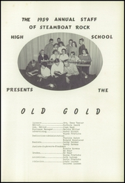 Page 5, 1959 Edition, Steamboat Rock High School - Old Gold Yearbook (Steamboat Rock, IA) online yearbook collection