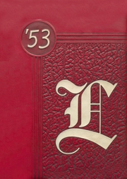 1953 Edition, Lyons High School - Lyonite Yearbook (Clinton, IA)