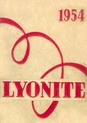 1954 Edition, Lyons High School - Lyonite Yearbook (Clinton, IA)