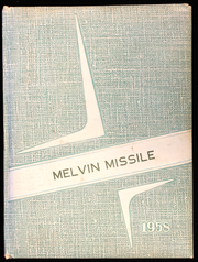 1958 Edition, Melvin High School - Missile Yearbook (Melvin, IA)