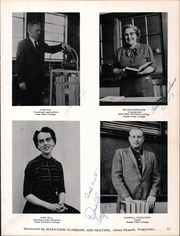 Page 15, 1958 Edition, Marathon High School - Reflector Yearbook (Marathon, IA) online yearbook collection