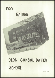 Page 5, 1959 Edition, Olds Consolidated High School - Raider Yearbook (Olds, IA) online yearbook collection