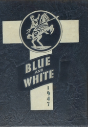 1947 Edition, Trinity High School - Blue and White Yearbook (Sioux City, IA)