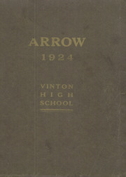 1924 Edition, Vinton High School - Arrow Yearbook (Vinton, IA)