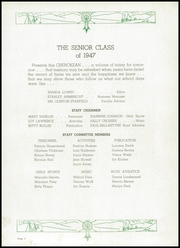 Page 9, 1947 Edition, Wilson High School - Cherokean Yearbook (Cherokee, IA) online yearbook collection