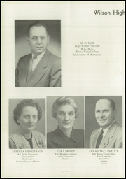 Page 8, 1953 Edition, Wilson High School - Cherokean Yearbook (Cherokee, IA) online yearbook collection