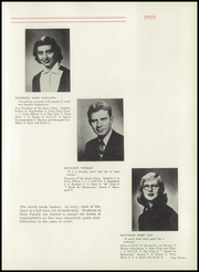 Page 15, 1951 Edition, Holy Family High School - Maragold Yearbook (Mason City, IA) online yearbook collection
