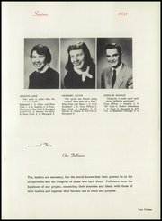Page 17, 1951 Edition, Holy Family High School - Maragold Yearbook (Mason City, IA) online yearbook collection