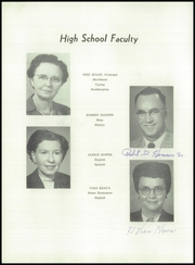 Page 10, 1958 Edition, LeClaire High School - Hilltopper Yearbook (LeClaire, IA) online yearbook collection
