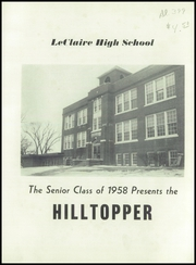 Page 5, 1958 Edition, LeClaire High School - Hilltopper Yearbook (LeClaire, IA) online yearbook collection