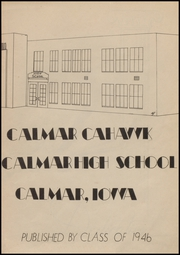 Page 3, 1946 Edition, Calmar High School - Cahawk Yearbook (Calmar, IA) online yearbook collection