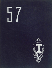 1957 Edition, Teachers College High School - Little Panther Yearbook (Cedar Falls, IA)