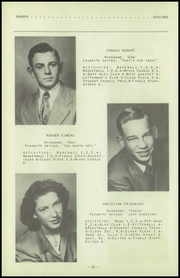 Page 10, 1951 Edition, Fenton High School - Sentral Yearbook (Fenton, IA) online yearbook collection