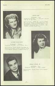 Page 11, 1951 Edition, Fenton High School - Sentral Yearbook (Fenton, IA) online yearbook collection