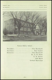 Page 7, 1951 Edition, Fenton High School - Sentral Yearbook (Fenton, IA) online yearbook collection