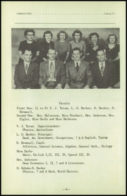 Page 8, 1951 Edition, Fenton High School - Sentral Yearbook (Fenton, IA) online yearbook collection