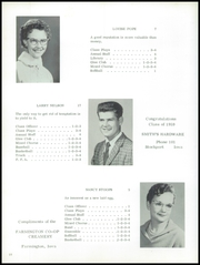Page 14, 1959 Edition, Stockport High School - Cardinal Yearbook (Stockport, IA) online yearbook collection