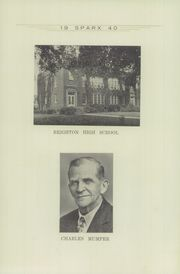 Page 13, 1940 Edition, Brighton High School - Sparx Yearbook (Brighton, IA) online yearbook collection