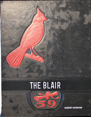 1959 Edition, Blairstown High School - Blair Yearbook (Blairstown, IA)