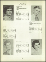 Page 14, 1955 Edition, Batavia High School - Chieftain Yearbook (Batavia, IA) online yearbook collection