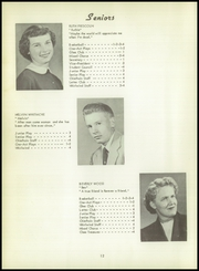 Page 16, 1955 Edition, Batavia High School - Chieftain Yearbook (Batavia, IA) online yearbook collection