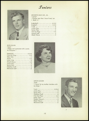 Page 17, 1955 Edition, Batavia High School - Chieftain Yearbook (Batavia, IA) online yearbook collection