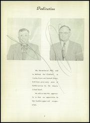 Page 6, 1955 Edition, Batavia High School - Chieftain Yearbook (Batavia, IA) online yearbook collection