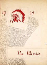 1954 Edition, What Cheer High School - Warrior Yearbook (What Cheer, IA)