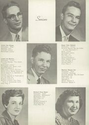 Page 10, 1955 Edition, What Cheer High School - Warrior Yearbook (What Cheer, IA) online yearbook collection