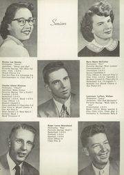 Page 12, 1955 Edition, What Cheer High School - Warrior Yearbook (What Cheer, IA) online yearbook collection