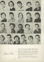 Page 16, 1955 Edition, What Cheer High School - Warrior Yearbook (What Cheer, IA) online yearbook collection