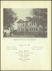 Page 5, 1953 Edition, Bagley High School - Blue and White Yearbook (Bagley, IA) online yearbook collection
