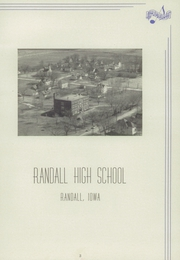 Page 7, 1949 Edition, Randall High School - Rambler Yearbook (Randall, IA) online yearbook collection