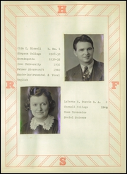 Page 15, 1942 Edition, Rock Falls High School - Scarlet and White Yearbook (Rock Falls, IA) online yearbook collection